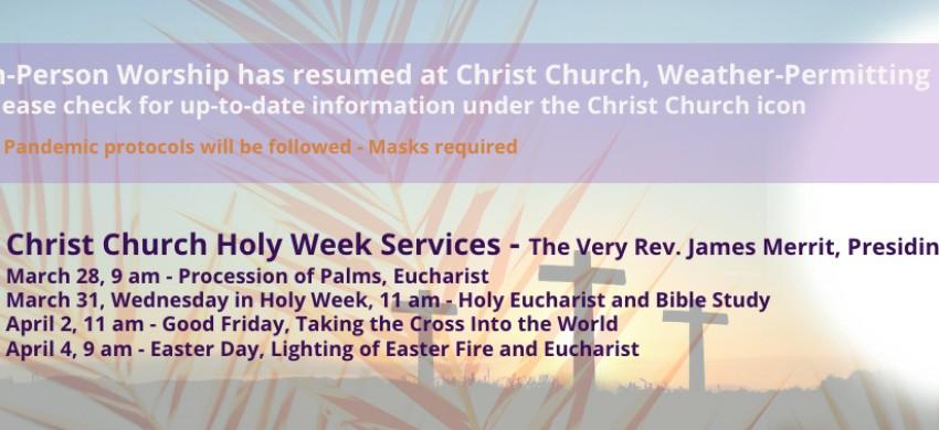 Christ Church Easter 2021-2